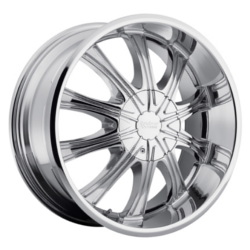 Cruiser Alloy 911C FWD Chrome 16X8 5-100 Wheel