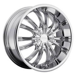 Cruiser Alloy 912C FWD Chrome 20X9 5-108 Wheel