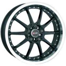 XXR 941 Black/Ml 16X7 4-100 Wheel