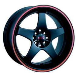 XXR 962 F-Black/Red 18X8 5-114.3 Wheel
