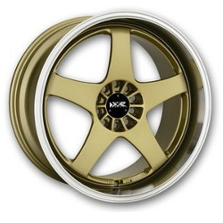 XXR 962 Gold/Ml 18X9 4-100 Wheel