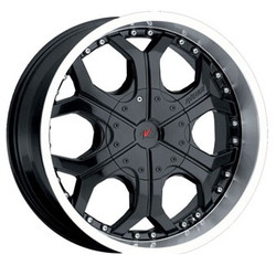 Avenue A521 Black 20X9 8-170 Wheel