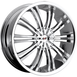 Avenue A601 Chrome 16X7 5-100 Wheel