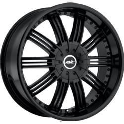 Avenue A603 Satin Black 24X10 5-115 Wheel