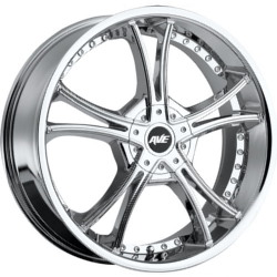 Avenue A604 Chrome 20X8 5-115 Wheel