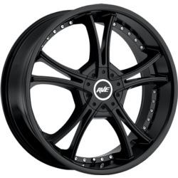 Avenue A604 Satin Black 22X9 5-115 Wheel