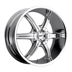 Avenue A701 Chrome 22X10 5-112 Wheel