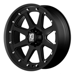 KMC-XD Series ADDICT Matte Black 17X9 8-165.1 Wheel