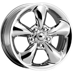 American Racing AERO Chrome 15X7 5-114.3 Wheel