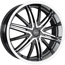 Veloche AIR Black/Machined 18X8 4-114.3 Wheel