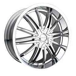 Veloche AIR Chrome 20X9 5-114.3 Wheel