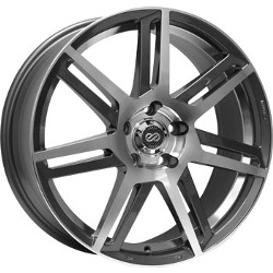 Enkei ALETTA Gunmetal Machined 18X8 5-114.3 Wheel