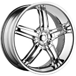 DIP AMBUSH Chrome Wheel