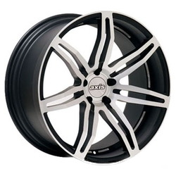 Axis ANGLE Matte Silver 20X9 5-120 Wheel