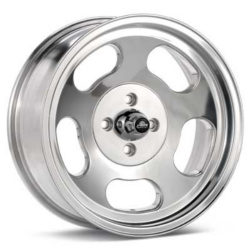 American Racing Hot Rod ANSEN SPRINT Polished 15X7 5-101.6 Wheel