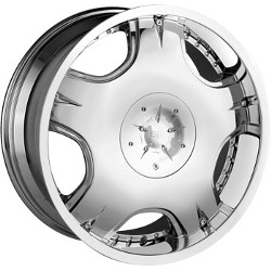 DIP APOLLO Chrome 20X9 5-135 Wheel