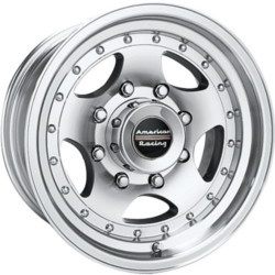 American Racing AR23 Machined With Clear Coat 15X8 5-127 Wheel