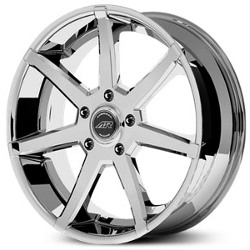 American Racing AR840 Bright Pvd 20X9 6-127 Wheel