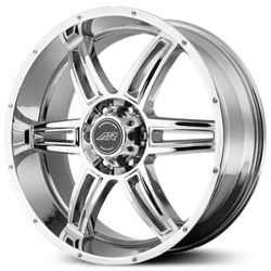 American Racing AR890 Chrome 20X9 6-139.7 Wheel