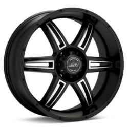 American Racing AR890 Satin Black Machined 20X9 5-114.3 Wheel