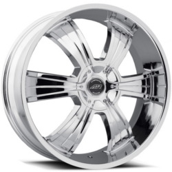 American Racing AR894 Chrome 20X9 5-135 Wheel