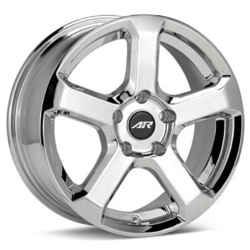 American Racing AR896 Chrome 15X7 5-100 Wheel