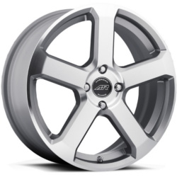 American Racing AR896 Dark Silver W/ Mach Face 16X7 5-120 Wheel
