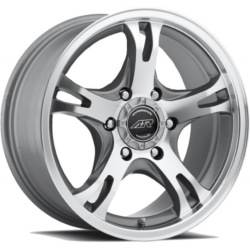 American Racing AR898 Dark Silver W/ Mach Face 16X8 6-139.7 Wheel