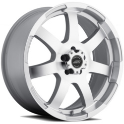 American Racing AR899 Silver W Machined Face 22X10 5-127 Wheel