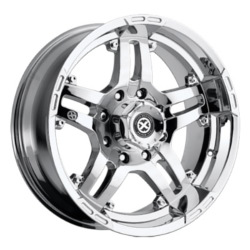 American Racing Atx ARTILLERY Chrome 17X9 8-170 Wheel