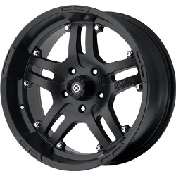 American Racing Atx ARTILLERY Teflon Black Wheel