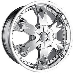 Baccarat ATHLETE Chrome Wheel
