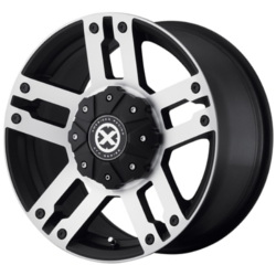 American Racing Atx AX190 Satin Black Machined Wheel