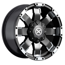 American Racing Atx AX191 Satin Black Machined