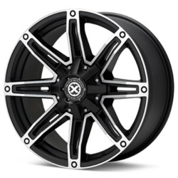 American Racing Atx AX193 Satin Black Machined Wheel