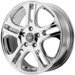 American Racing AXL Chrome 15X7 5-100 Wheel