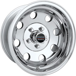 American Racing BAJA Polished 17X8 8-170 Wheel