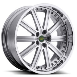 Redbourne BARON Silver Chrome Lip 22X10 5-120 Wheel