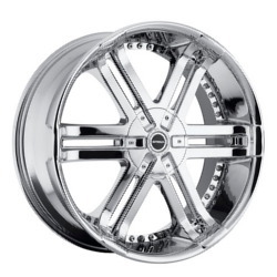 Strada BASTONE Chrome 20X9 5-112 Wheel