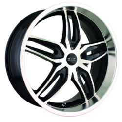 DIP BIONIC Black/Machined Wheel