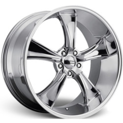 American Racing Hot Rod BLVD Chrome 22X11 5-120 Wheel