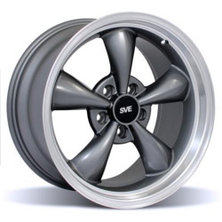 Wheel Replicas BULLET Anthracite/Machined Lip 17X11 5-114.3 Wheel