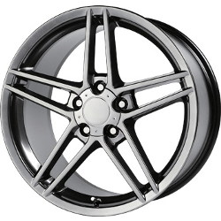 Wheel Replicas C6/ZO6 Hyper Silver Dark 17X9 5-120.7 Wheel