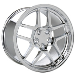 Ace C804 Chrome 17X10 5-120.7 Wheel