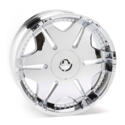 Ace C805 Chrome 18X10 5-120.7 Wheel