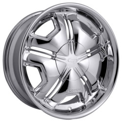 Strada CAMBIO Chrome 22X10 5-139.7 Wheel