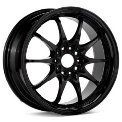 Volk Racing CE28N Flat Black 18X9 5-114.3 Wheel