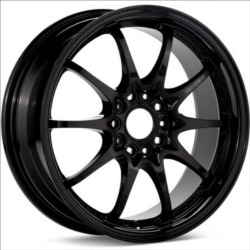 Volk Racing CE28N Gloss Black 19X10 5-120 Wheel