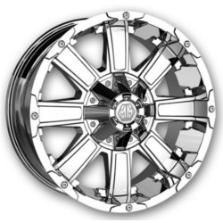 Mayhem CHAOS Chrome 20X12 8-165.1 Wheel