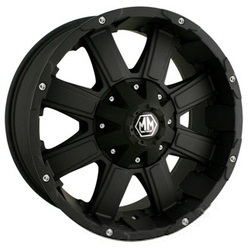 Mayhem CHAOS Matte Black 20X9 5-139.7 Wheel